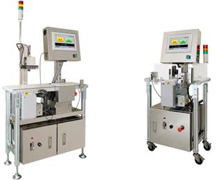 協和商工社製のラベル検査機と左右ラベル検査機