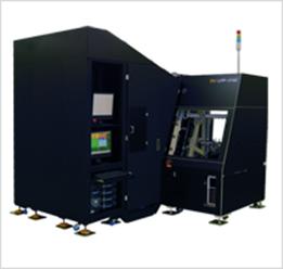 日本マイクロニクス社の大型真似る対応の自動工学検査装置