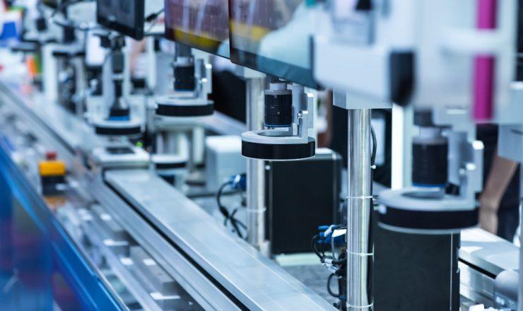自動化された生産ライン